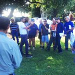 A group of canegrowers attend one of many refresher courses in the Mackay area