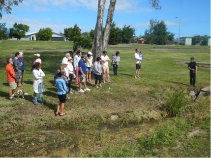 Group told about the erosion and sediment control compliance program in Mackay