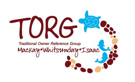 Logo for the Traditional Owner Reference Group for Mackay, Whitsunday and Isaac