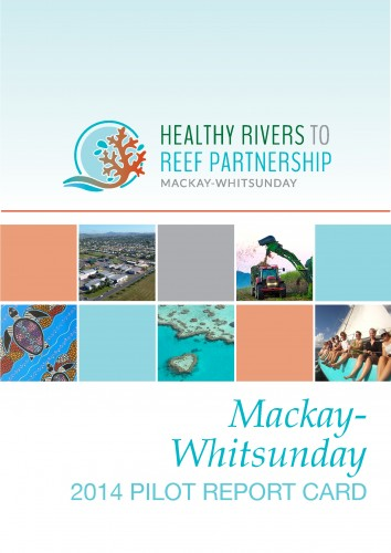 Healthy River to Reef report card cover.