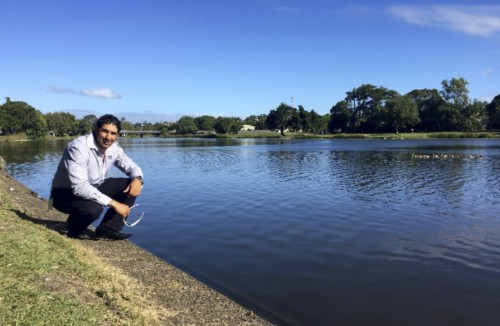 Luke Galea keeps a close eye on water quality for Mackay