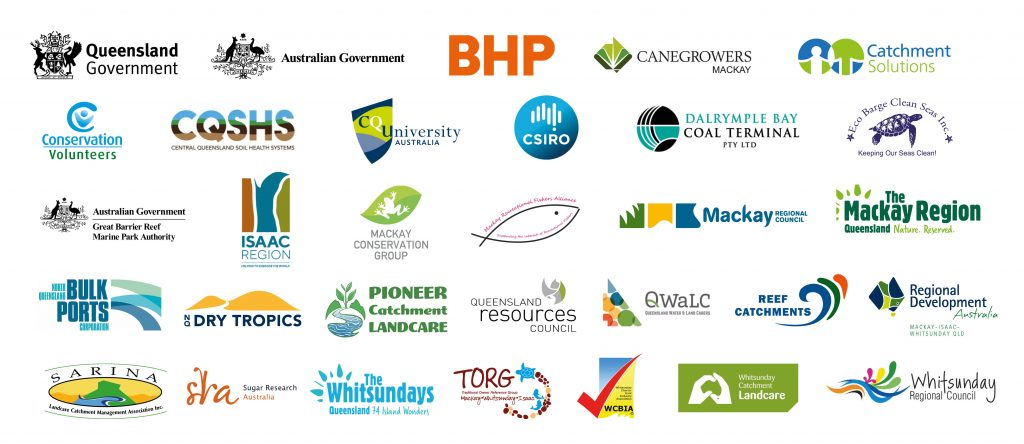 Healthy Rivers to Reef Partner Logos April 2020
