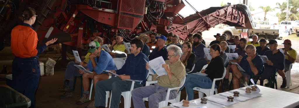 SRA Shed meeting with sugarcane growers